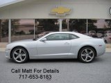 2010 Silver Ice Metallic Chevrolet Camaro SS/RS Coupe #37424164