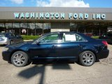 2008 Dark Blue Ink Metallic Lincoln MKZ AWD Sedan #37423961
