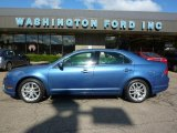 2010 Sport Blue Metallic Ford Fusion SEL V6 AWD #37423967