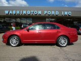 2010 Sangria Red Metallic Ford Fusion SEL V6 #37423970