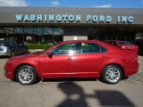 2010 Sangria Red Metallic Ford Fusion SEL V6 #37423971