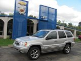 2002 Bright Silver Metallic Jeep Grand Cherokee Overland 4x4 #37423688