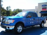 2010 Blue Flame Metallic Ford F150 XLT SuperCab #37423701