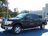 2010 Tuxedo Black Ford F150 XLT SuperCrew #37423705