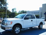 2010 Oxford White Ford F150 XLT SuperCab #37423707
