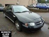 2003 Black Chevrolet Cavalier Coupe #37423443