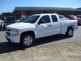 2011 Summit White Chevrolet Silverado 1500 LT Extended Cab 4x4 #37424313