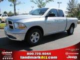 2011 Bright Silver Metallic Dodge Ram 1500 SLT Quad Cab #37423804