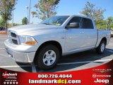 2011 Bright Silver Metallic Dodge Ram 1500 SLT Crew Cab #37423805
