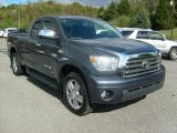 2008 Slate Gray Metallic Toyota Tundra Limited Double Cab 4x4 #37424369