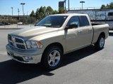 2011 White Gold Dodge Ram 1500 Big Horn Quad Cab #37424378