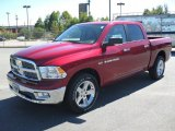 2011 Deep Cherry Red Crystal Pearl Dodge Ram 1500 Big Horn Crew Cab 4x4 #37424379