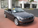 2006 Sparkling Graphite Metallic BMW 3 Series 330i Convertible #37423602