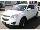 2010 Summit White Chevrolet Equinox LT AWD #37424449