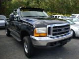 2000 Black Ford F250 Super Duty XLT Extended Cab 4x4 #37492871