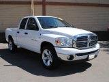 2007 Bright White Dodge Ram 1500 Big Horn Edition Quad Cab #37493247