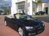 2008 Monaco Blue Metallic BMW 3 Series 335i Convertible #37531762