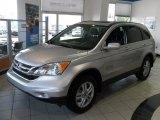 2011 Alabaster Silver Metallic Honda CR-V EX-L #37532262