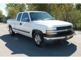 2000 Summit White Chevrolet Silverado 1500 LS Extended Cab #37531773