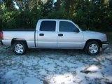 2005 Silver Birch Metallic Chevrolet Silverado 1500 LS Crew Cab #37532040