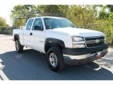 2005 Chevrolet Silverado 2500HD Work Truck Extended Cab Data, Info and Specs