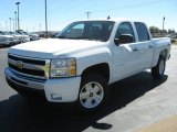 2011 Summit White Chevrolet Silverado 1500 LT Crew Cab 4x4 #37532065