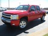 2011 Victory Red Chevrolet Silverado 1500 LT Crew Cab 4x4 #37532066