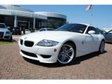 2007 Alpine White BMW M Coupe #37532091