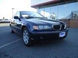 2004 Orient Blue Metallic BMW 3 Series 325xi Sedan #37532307