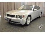 2003 Titanium Silver Metallic BMW 7 Series 745Li Sedan #37531709