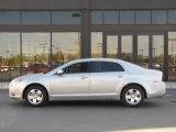 2008 Silverstone Metallic Chevrolet Malibu Hybrid Sedan #37532157