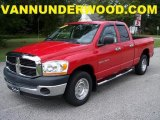 2006 Flame Red Dodge Ram 1500 ST Quad Cab #37531737