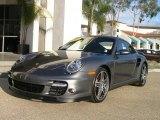 2007 Meteor Grey Metallic Porsche 911 Turbo Coupe #37531761