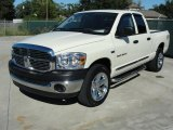 2007 Dodge Ram 1500 Big Horn Edition Quad Cab Front 3/4 View