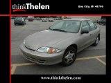 2002 Sandrift Metallic Chevrolet Cavalier Sedan #37532407