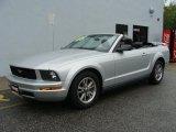 2005 Satin Silver Metallic Ford Mustang V6 Premium Convertible #37532002