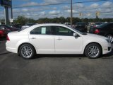 2011 White Platinum Tri-Coat Ford Fusion SEL #37532007