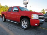 2011 Victory Red Chevrolet Silverado 1500 LT Crew Cab 4x4 #37584827