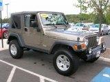 2006 Light Khaki Metallic Jeep Wrangler Rubicon 4x4 #37585046