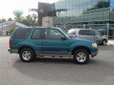 2001 Island Blue Metallic Ford Explorer Sport 4x4 #37584658