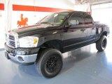 2007 Black Dodge Ram 1500 ST Quad Cab 4x4 #37584436