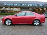 2010 Red Candy Metallic Ford Fusion Sport #37584905