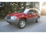 2002 Inferno Red Tinted Pearlcoat Jeep Grand Cherokee Laredo 4x4 #37584907