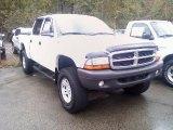 2004 Bright White Dodge Dakota SXT Quad Cab 4x4 #37584479
