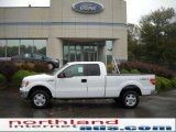 2010 Oxford White Ford F150 XLT SuperCab 4x4 #37584523
