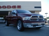 2011 Deep Cherry Red Crystal Pearl Dodge Ram 1500 Big Horn Crew Cab 4x4 #37584995
