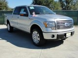 2010 Ingot Silver Metallic Ford F150 Platinum SuperCrew 4x4 #37637896