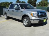 2010 Ingot Silver Metallic Ford F150 XLT SuperCrew #37637898