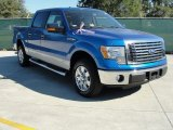 2010 Blue Flame Metallic Ford F150 XLT SuperCrew #37637902