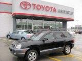 2003 Black Obsidian Hyundai Santa Fe LX #37637714